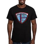 USS MIDWAY Men's Fitted T-Shirt (dark)