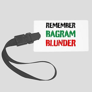 Remember Bagram Blunder Luggage Tag