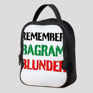 Remember Bagram Blunder Neoprene Lunch Bag