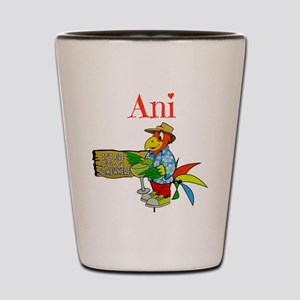Ani - Its 5 Oclock Somewhere Shot Glass