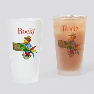 Rocky - Its 5 Oclock Somewhere Drinking Glass