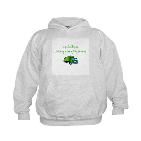 Taking Care of Business Kids Hoodie