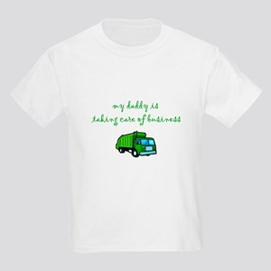 Taking Care of Business Kids Light T-Shirt