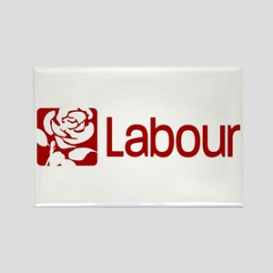 Labour Party Rectangle Magnet