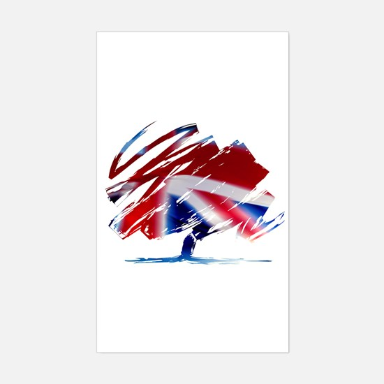 Conservative Party Sticker (Rectangle)
