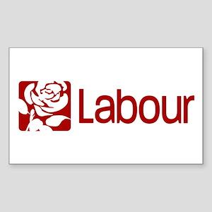 Labour Party Sticker (Rectangle)
