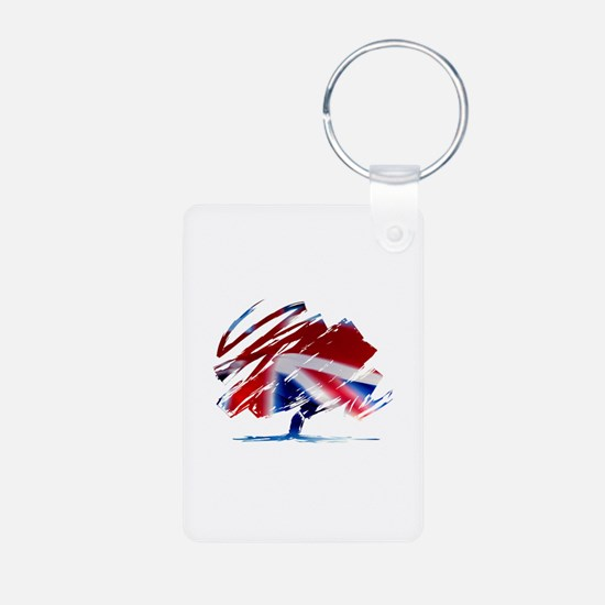 Conservative Party Aluminum Photo Keychains