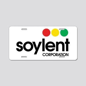 Soylent Corporation Aluminum License Plate