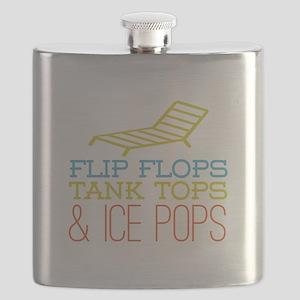 Flip Flops Ice Pops Flask