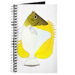 Pyramid Butterflyfish Journal