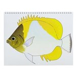 Cool Reef Fish 5 Wall Calendar