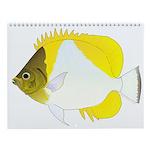 Cool Reef Fish 5 Wall Calendar