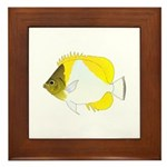 Pyramid Butterflyfish Framed Tile