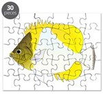 Pyramid Butterflyfish Puzzle