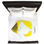 Pyramid Butterflyfish King Duvet