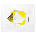 Pyramid Butterflyfish King Duvet