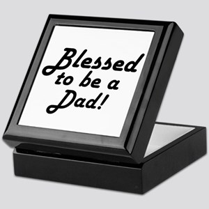 Blessed to be a Dad Keepsake Box