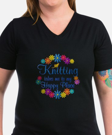 Knitting Happy Place Shirt