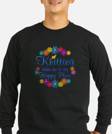 Knitting Happy Place T