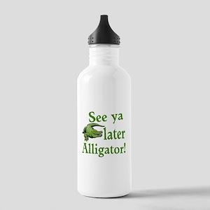 Later Alligator Water Bottle