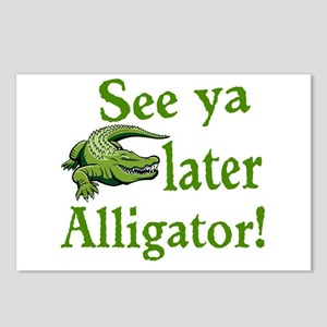 Later Alligator Postcards (Package of 8)