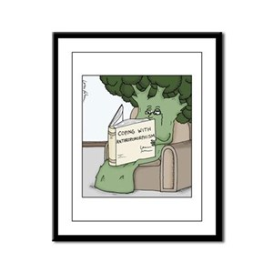 Coping with Anthropomorphism Framed Panel Print
