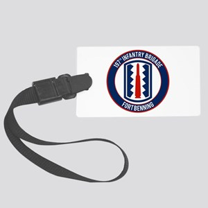 197th Infantry post Large Luggage Tag