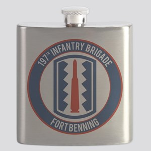 197th Infantry post Flask