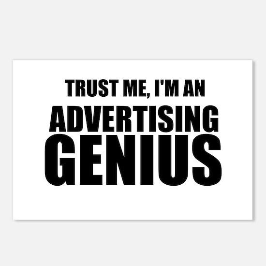 Trust Me, I'm An Advertising Genius Postcards (Pac