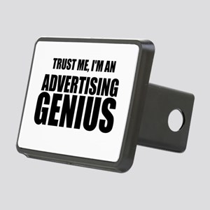 Trust Me, I'm An Advertising Genius Hitch Cover
