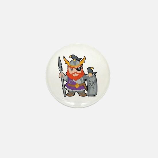 Odin, Lord Of Asgard Mini Button