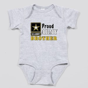 Army Brother Baby Bodysuit