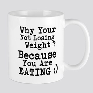 Why Your Not Losing Weight Because Your Eating Mug