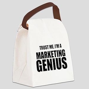 Trust Me, I'm A Marketing Genius Canvas Lunch Bag
