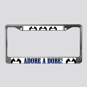 Dobe Head Profiles License Plate Frame