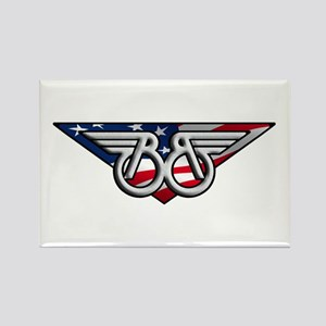 Winged B With American Flag Magnets