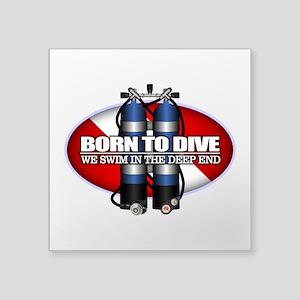 Born To Dive (ST) Sticker