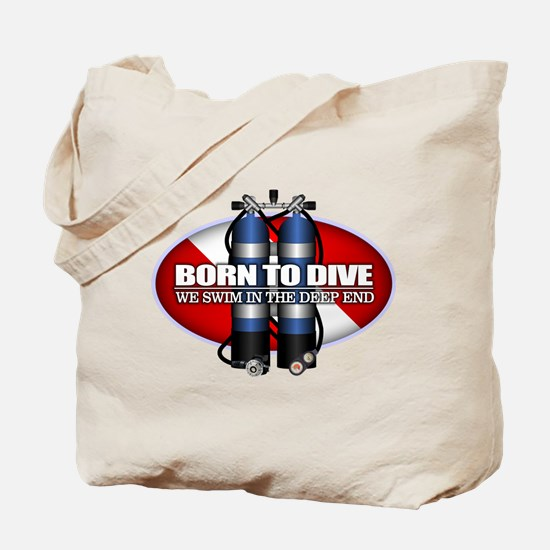 Born To Dive (ST) Tote Bag