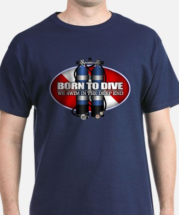 Born To Dive (ST) T-Shirt