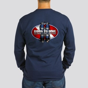 Born To Dive (st) Long Sleeve T-Shirt
