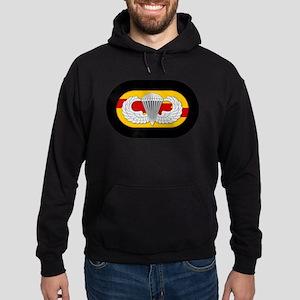 75th Ranger Airborne Hoodie (dark)