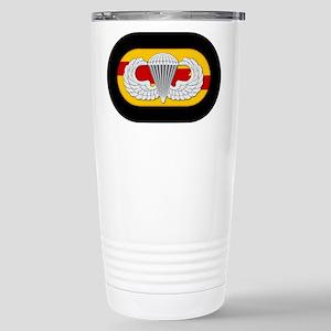 75th Ranger Airborne Stainless Steel Travel Mug