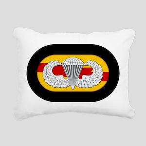 75th Ranger Airborne Rectangular Canvas Pillow
