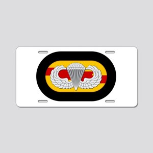 75th Ranger Airborne Aluminum License Plate