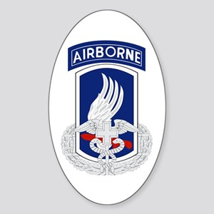 173rd Airborne CFMB Sticker (Oval)
