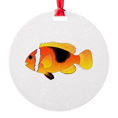 Fire Clownfish Ornament