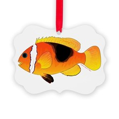 Fire Clownfish Ornament