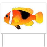 Fire Clownfish Yard Sign