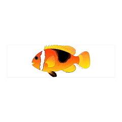Fire Clownfish Wall Decal