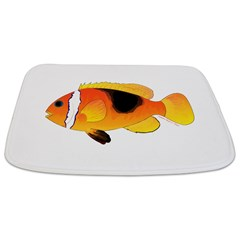 Fire Clownfish Bathmat